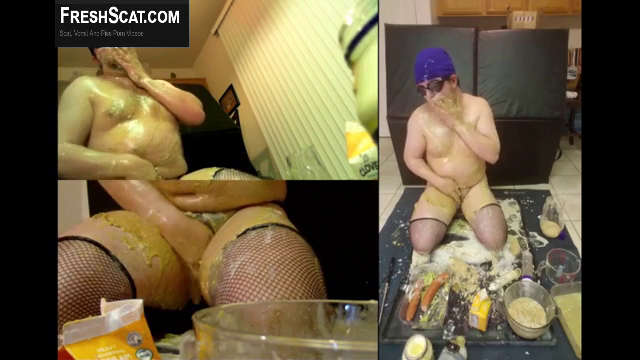 Guy Pisses Pukes Shits And Eats His Vomit Over And Over Again In Outrageous MALE SCAT Webcam Scene
