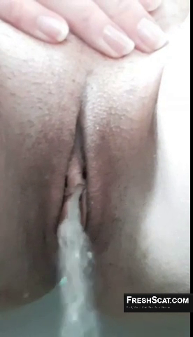 Yummy Strong Stream Of Piss Caught On Webcam