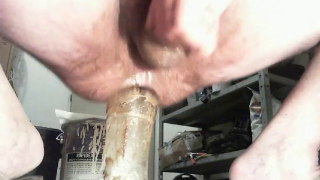 Guy Fucks Bottle And Covers It With Shit During Epic Anal Fucking Video MALE SCAT