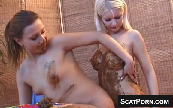 Lesbian Scat Teens Enjoy Shitting And Smearing Scat On Webcam