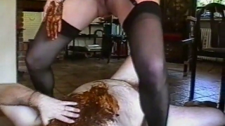 Scat Couple Gets Kinky And Dirty In Vintage Scat Scene