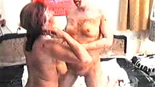Vintage Lesbian Scat Scene Caught On Camera With Lots Of Shitting And Smearing