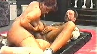 Vintage Scat Couple Enjoys Kinky Scat Sex Together